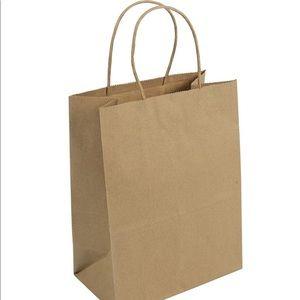 Handbags - 50 Duro Brown Craft Paper Bags